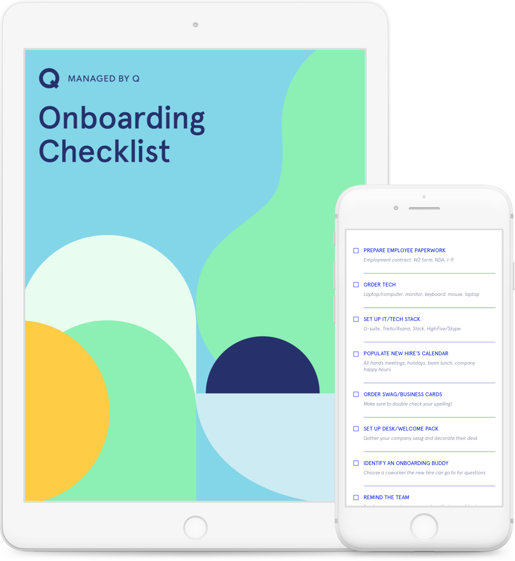 Managed by Q Onboarding Checklist